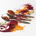 Beautiful spices composition Royalty Free Stock Photo