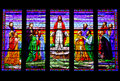 Beautiful Stained Glass Royalty Free Stock Images