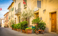 Beautiful Street Of San Quiric...
