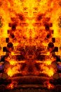 Beautiful Structure Of Burning...