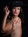 Beautiful, stylish woman Royalty Free Stock Photo