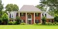 Beautiful Suburban Victorian Style Home Royalty Free Stock Photo