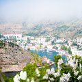 Beautiful summer day crimea balaklava Stock Image