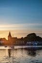 Beautiful Summer Sunset Landsc...