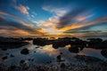 Beautiful Sunset Nature Backgr...