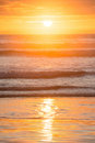 A beautiful sunset at Ninety Mile Beach Royalty Free Stock Photo