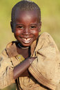 Beautiful suri boy young smiling at a ceremony in south omo ethiopia Royalty Free Stock Photo
