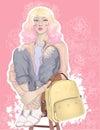Beautiful sweet blonde