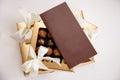Krásny cukroví v darčeková krabička