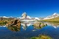 Beautiful Swiss Alps Landscape...
