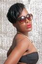 Beautiful tanned woman Royalty Free Stock Photo