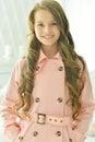 Beautiful teenage girl close-up Royalty Free Stock Photo