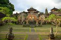 Beautiful temple in ubud in bali indonesia Stock Image