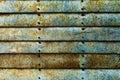 Beautiful Texture of Grunge Rusty Stripes Wall. Horizontal. Patt Royalty Free Stock Photo