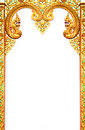 Beautiful Thai art frame. Stock Image