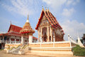 Beautiful Thai temple architecture Stock Photos