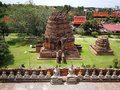 A beautiful Thailand temples, pagodas and Buddha statute in old historical`s Thailand country Royalty Free Stock Photo