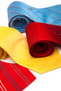 Beautiful ties Stock Image