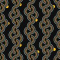 Beautiful trendy Geo stripe and Half Dots vertical stripe line Vector Seamless Pattern.Design for fashion,fabric, web,wrapping,
