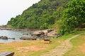 Beautiful tropical beach rayoug thailand Royalty Free Stock Image