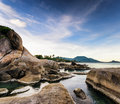Beautiful tropical landscape samui island thailand Royalty Free Stock Image