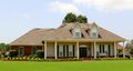Beautiful two story ranch style home located in bartlett tennessee just outside of memphis tennessee Stock Images