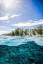 Beautiful underwater kapoposang indonesia scuba diving diver lombok bali Royalty Free Stock Photo