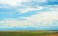 Beautiful unique sky in Denver, Colorado