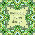 Beautiful unusual frame design.
