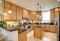 Beautiful upscale kitchen Royalty Free Stock Photo