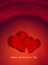 Beautiful Valentines Day background. Stock Images