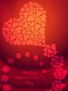 Beautiful Valentines Day background. Royalty Free Stock Photography