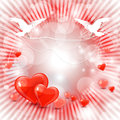Beautiful valentines day background Stock Image