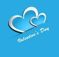 Beautiful valentines day colorful heart shape design illustration Royalty Free Stock Images