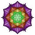 Beautiful Vector Mandala Flowe...