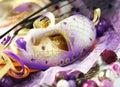 Beautiful Venetian carnival masks Royalty Free Stock Photo