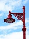 Beautiful victorian street lamp scotland Royalty Free Stock Images