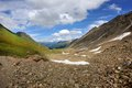 Beautiful view in the alps switzerland Royalty Free Stock Photo