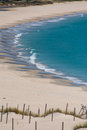 Beautiful view on beach and ocean, Spain, Tarifa Stock Photography