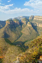 Beautiful view of blyde river canyon nature south africa Royalty Free Stock Photography