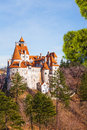 Beautiful view of bran castle dracula castle in transylvania and wallachia romania Stock Photo
