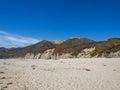 A beautiful view of california s coastline along highway big sur ca usa Stock Image