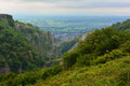 Beautiful view at the Cheddar Gorge, England Royalty Free Stock Photo