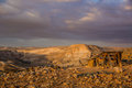 Beautiful view of desert yehuda Stock Photo