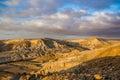 Beautiful view of desert yehuda Royalty Free Stock Photos