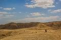 Beautiful view of desert yehuda Stock Image