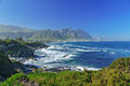 Beautiful view of hermanus south africa Royalty Free Stock Image