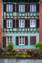 Beautiful view of the historic town of Strasbourg, colorful hous Royalty Free Stock Photo