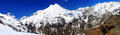 Beautiful view of mountaint Elbrus - highest peak of Europe Royalty Free Stock Photography