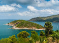 Beautiful view of phuket island from viewpoint Stock Images